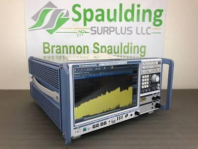 Rohde Schwarz Fsw67 2 Hz - 67 Ghz Signal Spectrum Analyzer - Loaded Calibrated