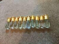 10x Random perfume oil/attar 3ml