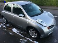 Nissan micra 1.5 DCI 30 road tax for a year very cheap !!