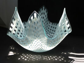 Handkerchief Glass posy vase