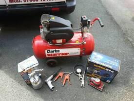 Air compressor and tools