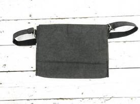 Kikki K felt shoulder bag