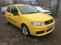 2005 fiat punto active genuine sport 1.2 grp 1 insurance ideal 1sr sexy funky car bargain immac 72k