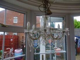 6 arm chandelier