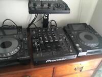 Pioneer full set up