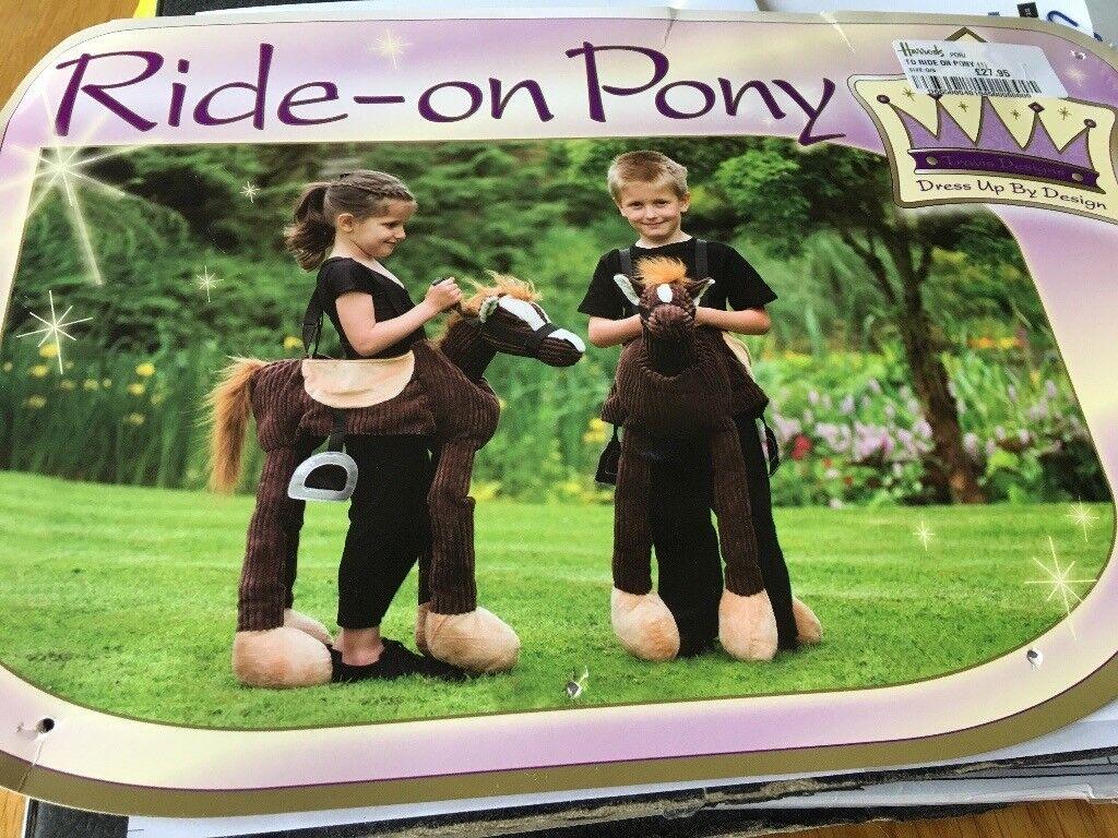 Ride on pony dress up