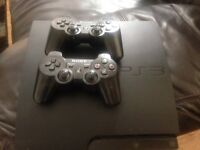 Ps3 320gb + controllers+ cables + games