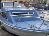 24 Ft Cabin Cruiser