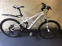 Specialized stump jumper fsr 2009 17.5 frame full suspension mountain bike