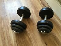 Pair of Dumbbells 23kg