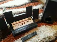 Lg dvd/cd player with surround sound