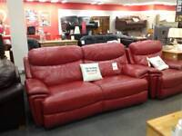 3 seater recliner sofa and recliner chair