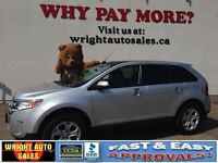 2011 Ford Edge NAVIGATION| LEATHER| PANORAMIC ROOF| 71,539KMS| $