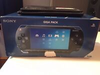 PSP 1GB with 10 Games + Accessories. Good Condition