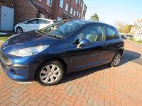PEUGEOT 207 1.4 VTI only 33k mileage with full service history 2008 manual not 206 306 407 107