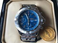 Swiss Brietling Avengers Chronograph Watch Blue