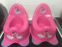 Minnie Mouse potty's