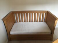 Mamas & Papas Ocean Nursery furniture In Golden Oak