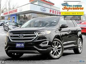 2015 Ford Edge Titanium ***Cap unit with NAV***