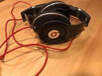 Dr Dre Beats Black Studio Headphones - like new