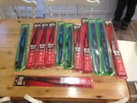 Various sizes wiper blades