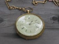 Extremely rare 18kt working Pocket watch circa 1869