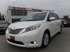 2015 Toyota Sienna XLE AWD\Navi\DVD\Leather\Backup Cam\Remote St