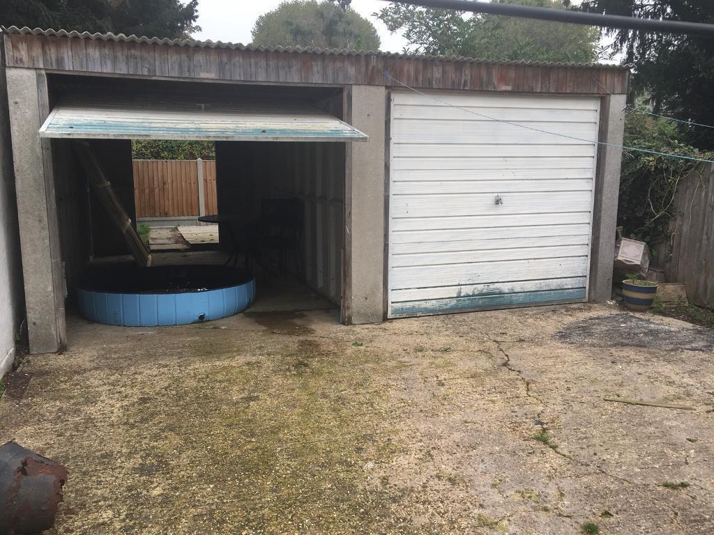 2 x Prefab concrete Garages for sale