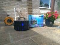 ProSound Large LED DJ Party Disco Light System with DMX