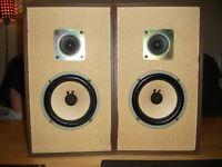 JVC SK 22 VINTAGE SPEAKERS +BOX