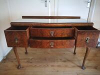 Retro Queen Anne Style Sideboard/Dressing Table