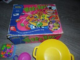 Wok n roll game