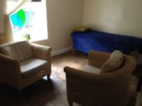 Large therapy room in Wellbeing centre, Wood Street, Old Town, Swindon.