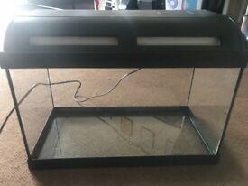 Fish tank aquarium UV light included NEEDS TO GO TODAY OR TOMORROW