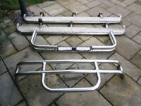 £150 - Nissan D21 Bull Bar / Roll Bar and Side Steps ( Full bar set )