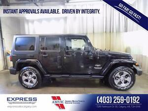 2016 Jeep Wrangler Unlimited Sahara -Instant Approvals Available