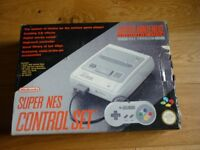Super Nintendo Entertainment System Boxed Console in Good Condition