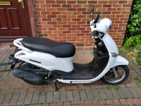 2014 Yamaha XC Delight 115 scooter, new 12 months MOT, low miles, very good runner, not 125 ,,,