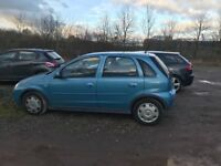 Vauxhall Corsa 1.0 Full 12 months MOT