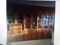 Solid Wood Door Kitchen Cabinets - Assorted