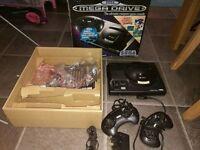 Sega Mega Drive Console Boxed