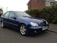 Mercedes C270 cdi Avantgarde SE Automatic Diesel full leather interior sunroof very good condition