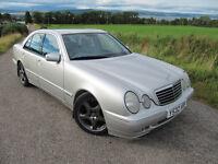 Mercedes E 320 CDi Avantgarde only 70K FSH Be quick £2450