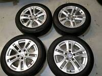 Mercedes alloys and tyres