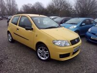 Fiat Punto 1.2 8v Active Sport 3dr, GENUINE LOW MILEAGE. HPI CLEAR. 1 YEAR MOT. P/X WELCOME