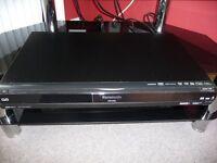 Panasonic DVD recorder with 25OGB Hard Drive.