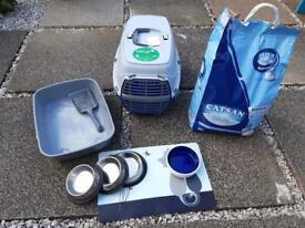 Various cat items