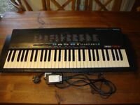 Yamaha PSR-18, Electric Keyboard,With DC Power Supply.
