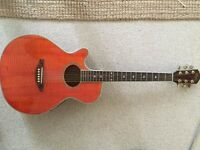 Very Rare - VP Alliance Lefthand Electro Acoustic Guitar made in Korea.