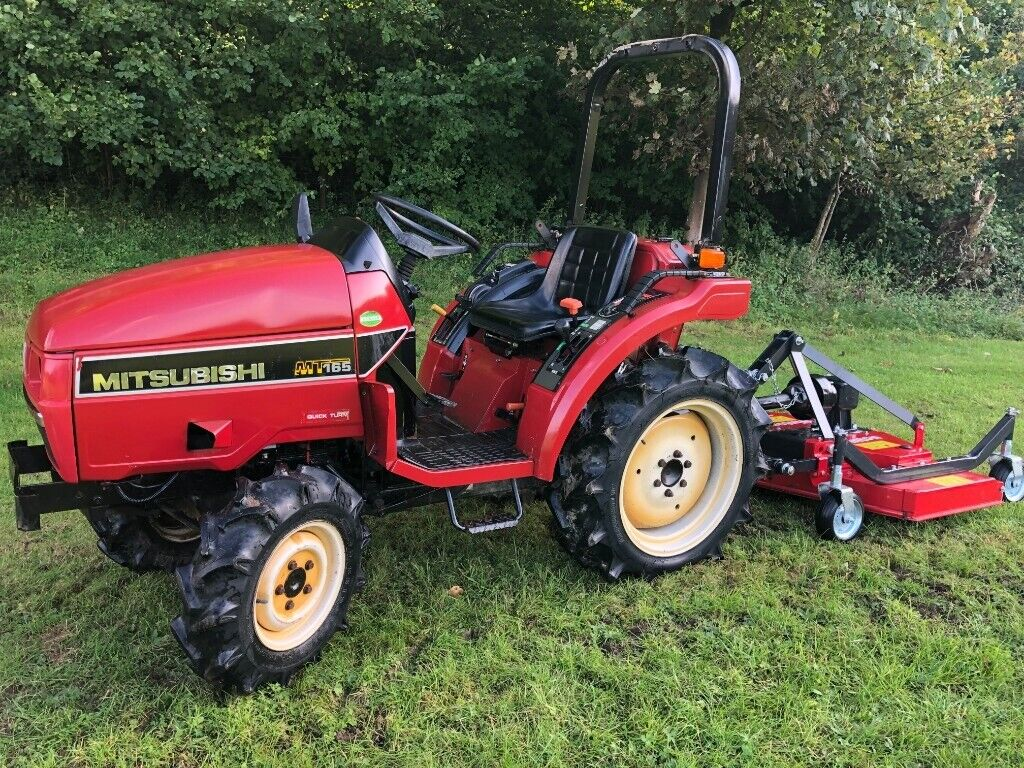 MITSUBISHI MT165 4WD Compact Tractor with New Finishing Mower ** WATCH  VIDEO ** | in Gloucester, Gloucestershire | Gumtree